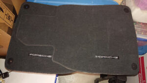 2014 and later Porsche Cayman cloth floor mats - unused