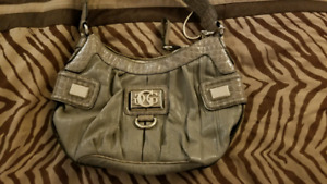 Grey Guess purse, brand new