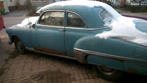 1949 OLDS 2 DOOR BUSINESS COUPE NEEDS TO GO
