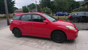 2005 Toyota Matrix for sale as is