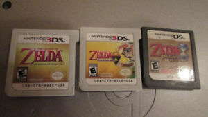 Zelda games for DS and 3DS