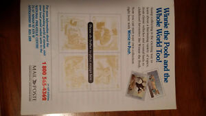 16 Winnie the Pooh 25th Anniversary Stamps and Story Cambridge Kitchener Area image 3