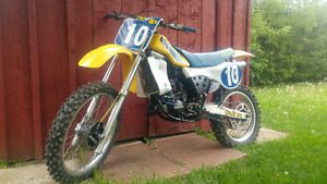 1981 RM125, +++  gear, extra parts