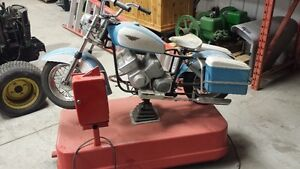 Harley-davidson coin operated ride