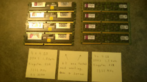 DDR3 Ram 4GB (various group pricing)