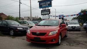 2009 Toyota Corolla LE (Safety, Keyless Start, Cruise Control)