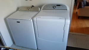 Washer and dryer excellent condition