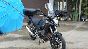 Honda CB500XA 2014 excellent condition, Low kms