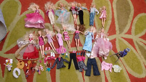 Barbie Dolls, clothing and accessories!