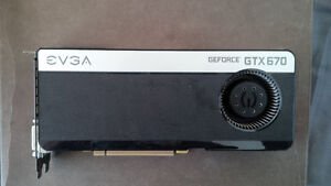 Evga GTX 670 4GB - Great Condition - Plays all Games!