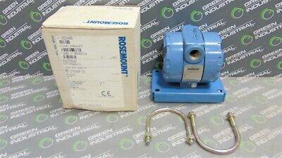Used Rosemount 444rl1u1a2na Temperature Transmitter 0 To 75 Deg C