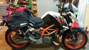 2015 KTM 390 Duke for the experienced or novice