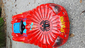Spiderman Pedal Car over 20 years Old Never Used