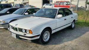 1989 BMW 535i Manual Transmission