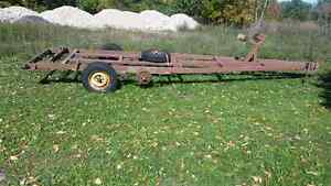Utility /Boat trailer frame and axel for sale