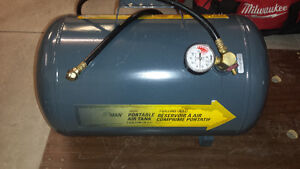 Airman Portable Compressed Air Tank Great Shape!!