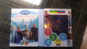 Disney frozen read and glow book NEW