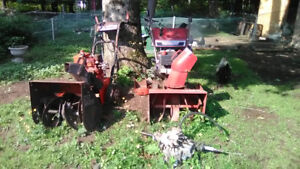 BUNDLE OF SNOWBLOWERS, RIDEON TRACTOR, MOTOR