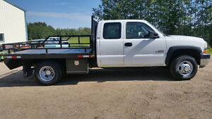 Low Mileage Duramax Dually 4x4 Flatdeck