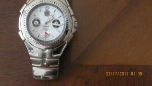 Tag Heur silver watch