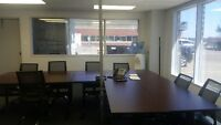 MAIN FLOOR 2 OFFICES PLUS SHARED BOARD ROOM AVAILABLE
