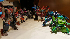 Transformers movie figure lot