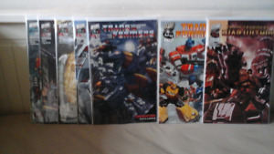 Comic book sets - Transformers, X-men, Daredevil, Iron Man, etc