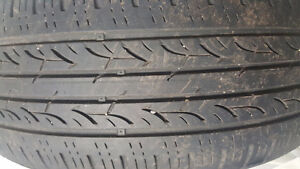 Used all season 55 R17 Tires Tires ( set of 4 Tires)