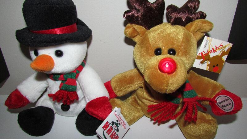 Sears Christmas Bean Bag Stuffed Collectibles 1998