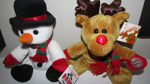 SEARS CHRISTMAS BEAN BAG STUFFED COLLECTIBLES - 1998 - 2017
