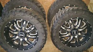 "20"" BMF 8 Bolt, Nitto Trail Grapplers"