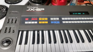 1985 JX-8P 6 voice synth
