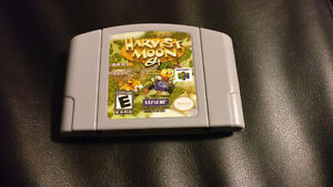 Harvest Moon 64 N64 Game Clean and Tested
