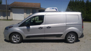 2015 Transit Connect refrigerated cargo van with reefer