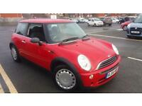 2004 54 MINI ONE 1.6 IN RED.VERY NICE EXAMPLE.LOW INSURANCE.2 KEYS.PX WELCOME .