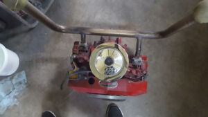 18 hp briggs and stratton opposed twin