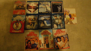 6 blu-rays-1 dvd- 5 dvd series--All for 15$