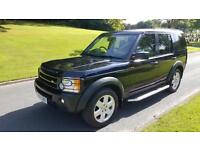 Land Rover Discovery 3 2.7TD V6 auto HSE, BEIGE LEATHER, SAT-NAV, PANORAMIC ROOF