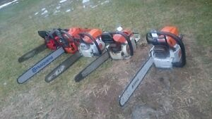 Various Chain Saws