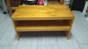 Solid Wood Vintage TV Stand - Beautiful!