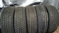 SET OF 5!! 255/70R18 BRIDGESTONE DUELLER AT