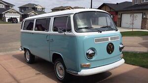 1972  VW van, Westfalia. New Paint.