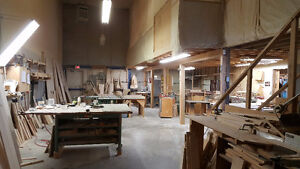 Woodworking manufacturing business is for sale