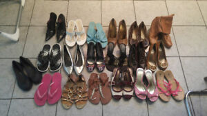 Womans shoes and dresses