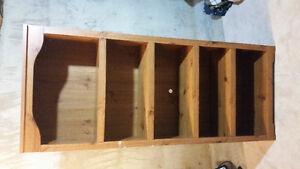 Hardwood Bookshelf