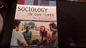 Sociology in our Times the Essentials 4th Canadian Edition