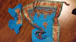 Saree indian girl outfit
