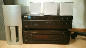 2 Sony avr and speakers