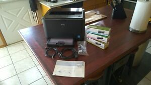 Moving - Dell Full Colour Laser Printer with Ink - Mint