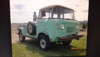 WANTED  FC -150 JEEP 1956 to60's pick up
